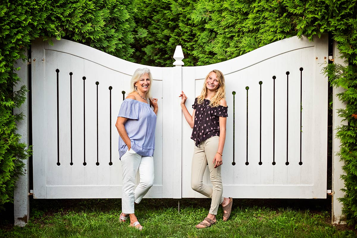 Mackinac island portrait session by northern Michigan photographer, Sheri Kowalski