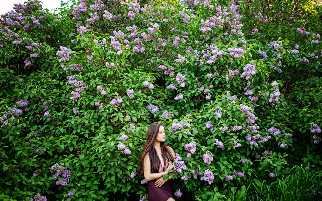 Eleanor in Spring Blooms